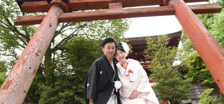 吉野水分神社で結婚式