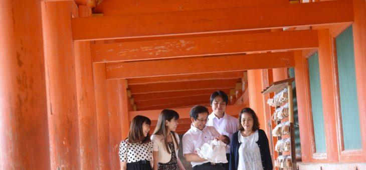 春日大社のお宮参り16626