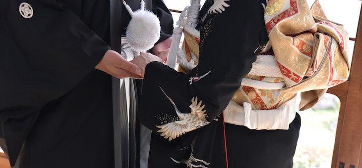御香宮神社での結婚式