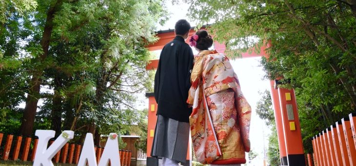 熊野速玉大社で結婚式の前撮り