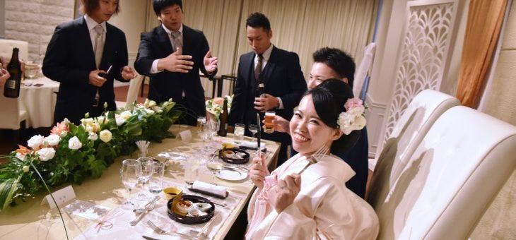 橿原ロイヤルホテルで結婚式の写真