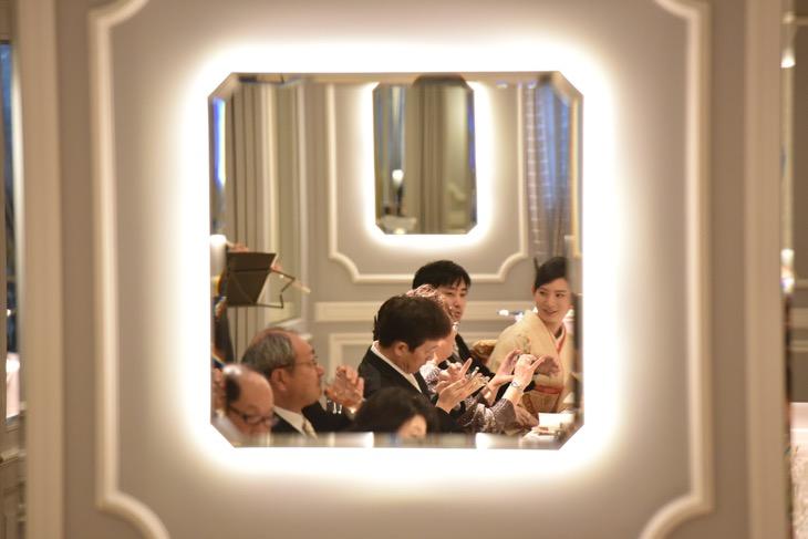神戸北野ホテルでの持ち込みカメラマンによる結婚式の写真
