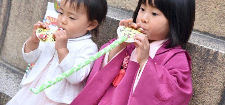 本住吉神社で七五三