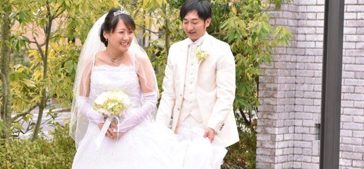 データ付き写真だけの結婚式