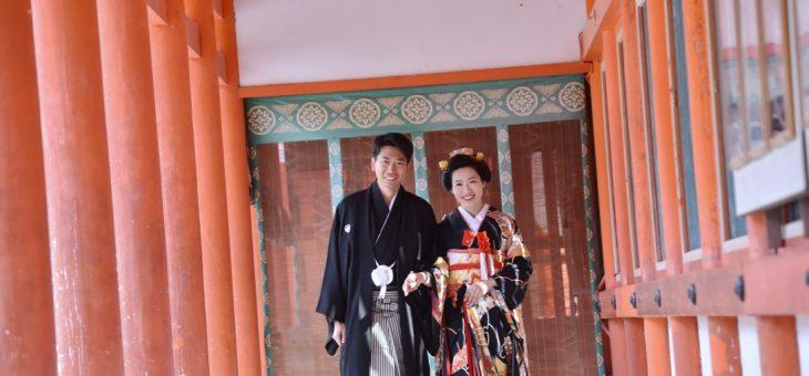 下鴨神社で結婚式