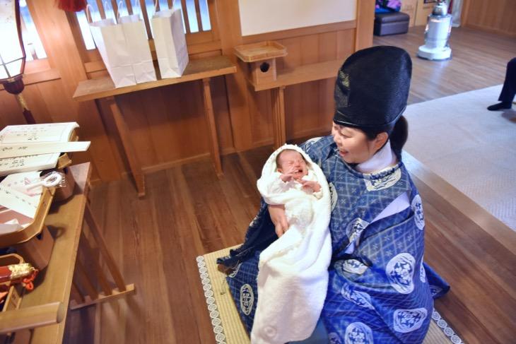 鹿島神社のお宮参り