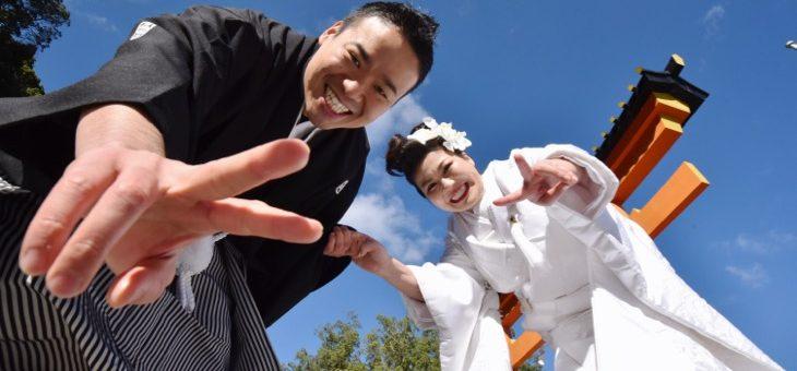 熊野那智大社の結婚式