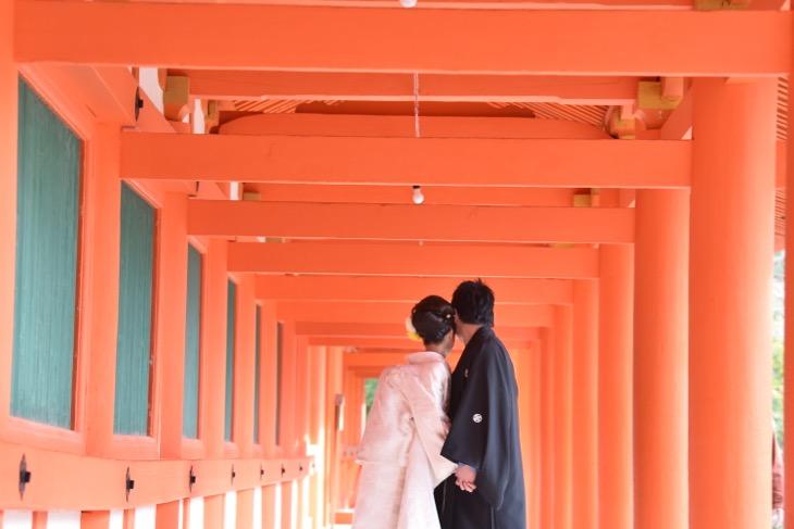春日大社の結婚式