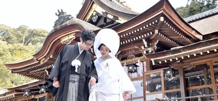 大神神社の結婚式(2017.2.26)