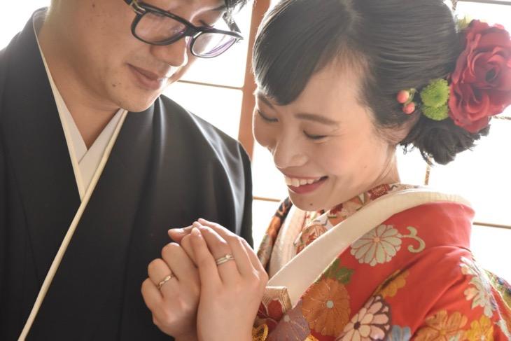 上賀茂神社と愛染倉(あぜくら)での結婚式の前撮り写真