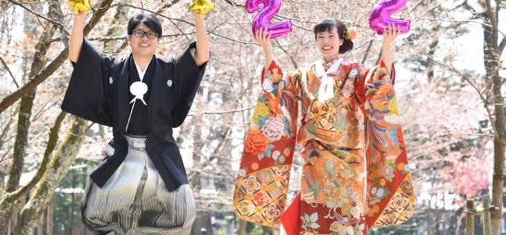 愛染倉と上賀茂神社の前撮り