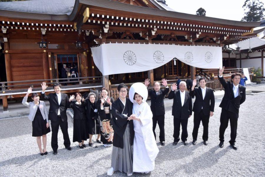大神神社の結婚式写真16