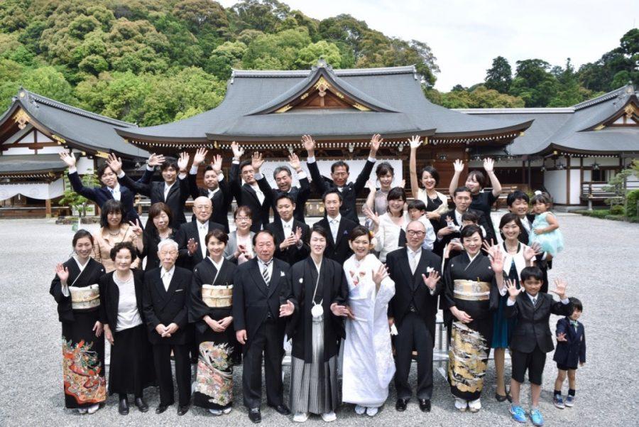 大神神社の結婚式写真17