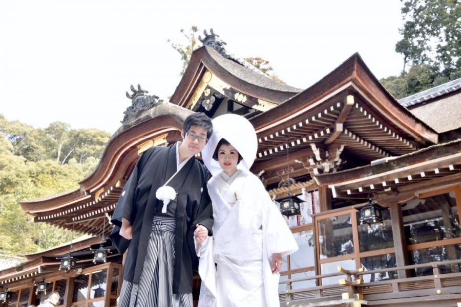 大神神社の結婚式写真2