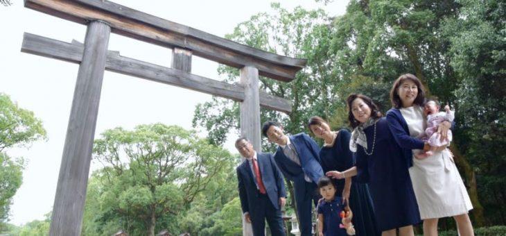 橿原神宮のお宮参り(2017.9.24)