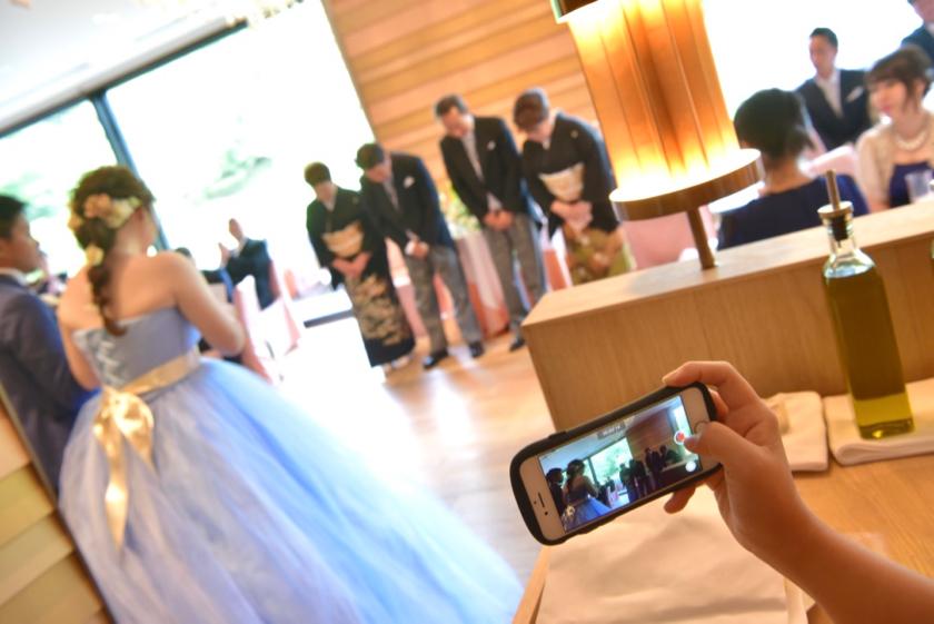 リストランテ オルケストラータの結婚式28