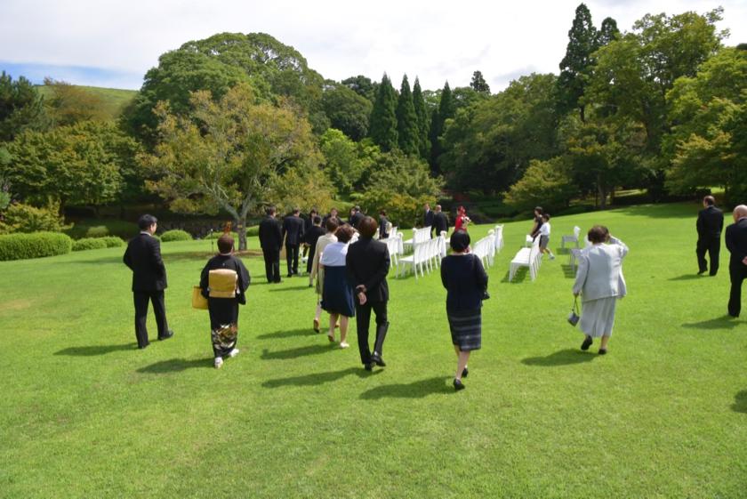 リストランテ オルケストラータの結婚式8