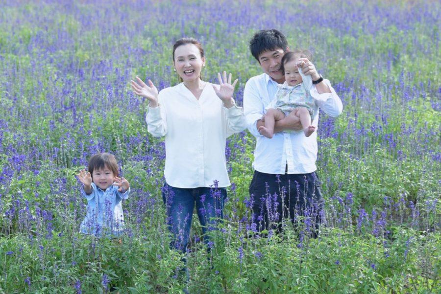 ファミリーフォト家族の写真