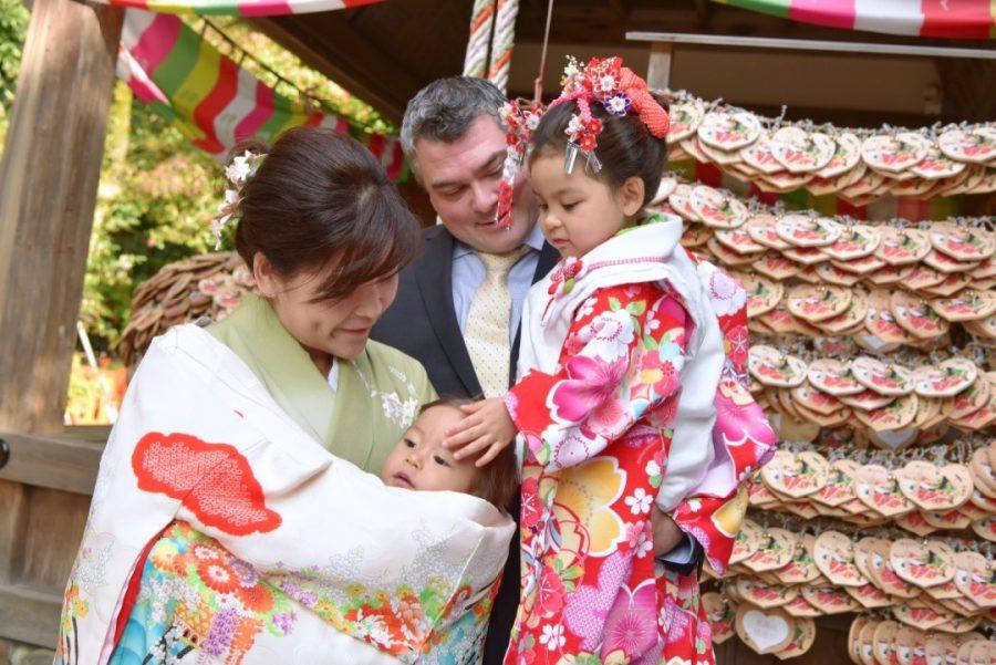 上賀茂神社お宮参りと七五三