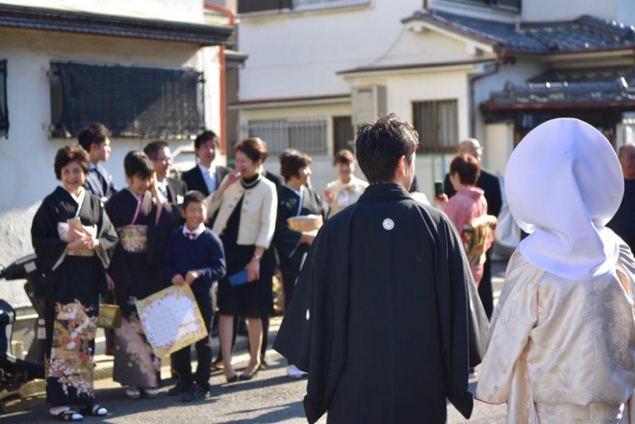 百舌鳥八幡宮の結婚式