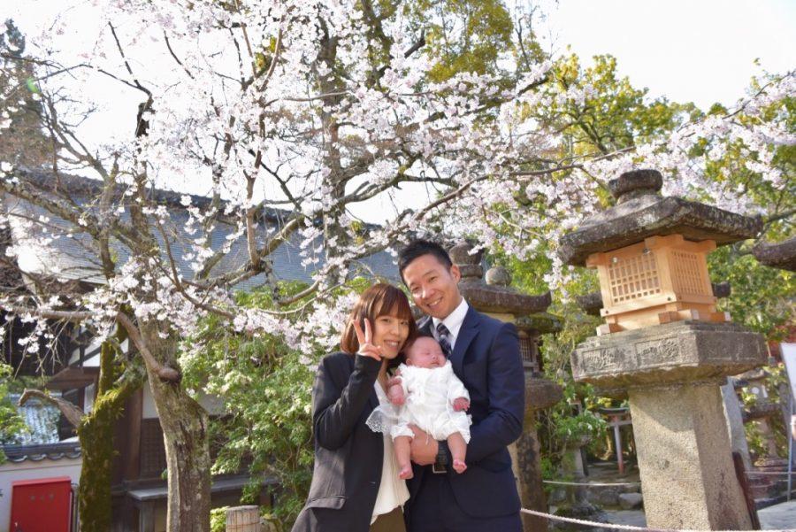 春日大社のお宮参り写真