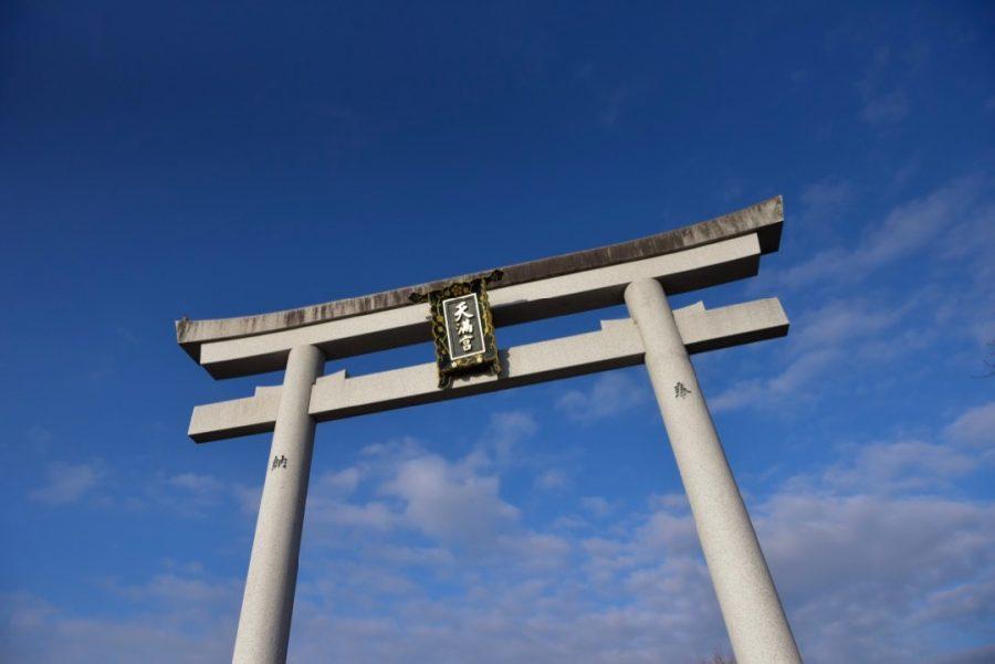 長岡天満宮のお宮参り写真撮影
