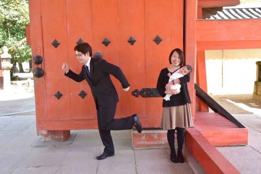 西宮神社でお宮参り