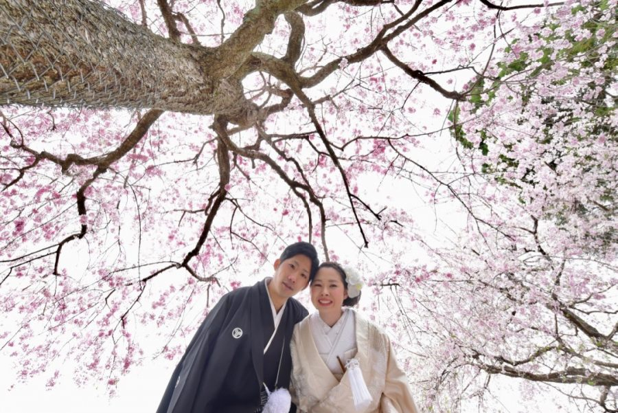 岡山から結婚式の前撮りの写真