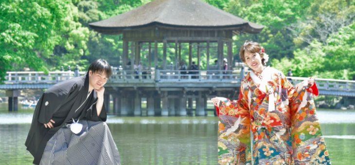 奈良公園で前撮り429