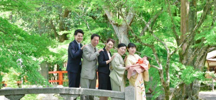 上賀茂神社のお宮参り