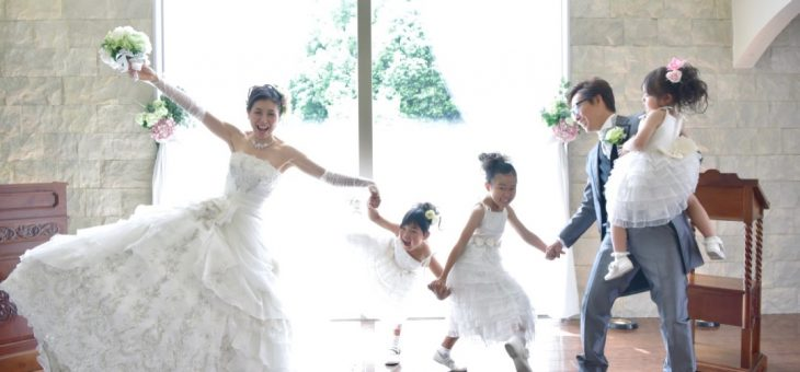 結婚10周年記念でフォトウエディング