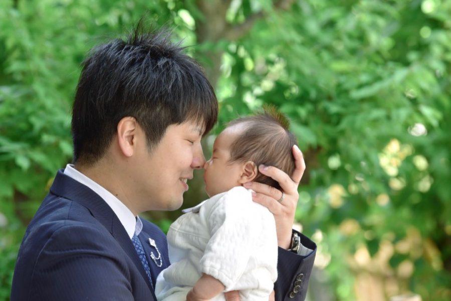 大阪天満宮(天神さん)のお宮参り写真