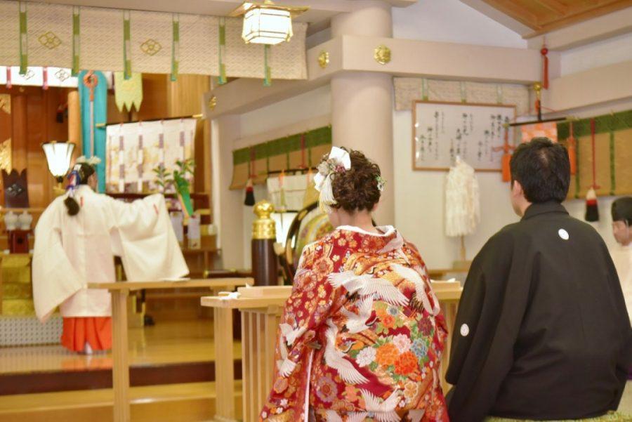 二見興玉神社の結婚式と賓日館で前撮り