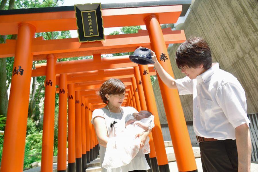 生田神社のお宮参り