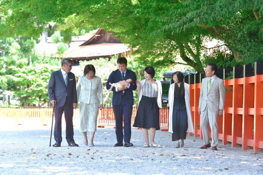 上賀茂神社でのお宮参り