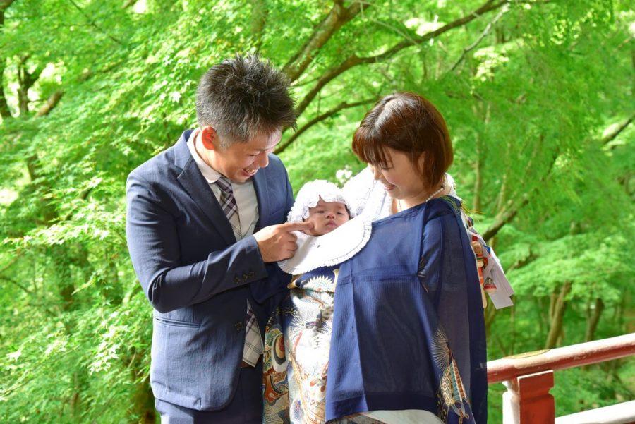 談山神社でのお宮参り