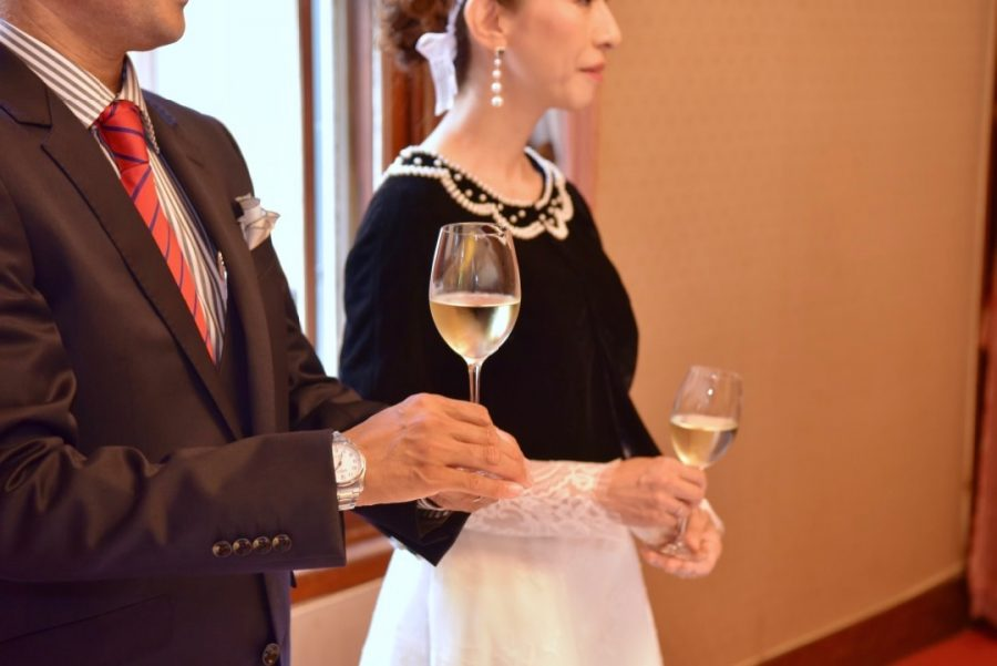 奈良ホテルの披露宴とえびす神社での結婚式