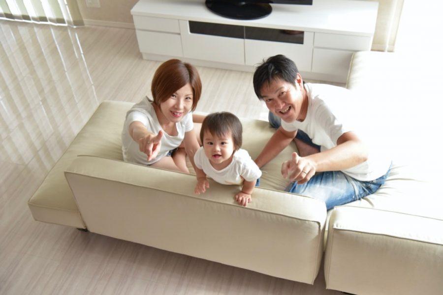 誕生日記念のバースデーフォトと家族写真