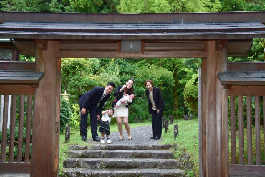 日本最古の神社、大神神社でのお宮参り
