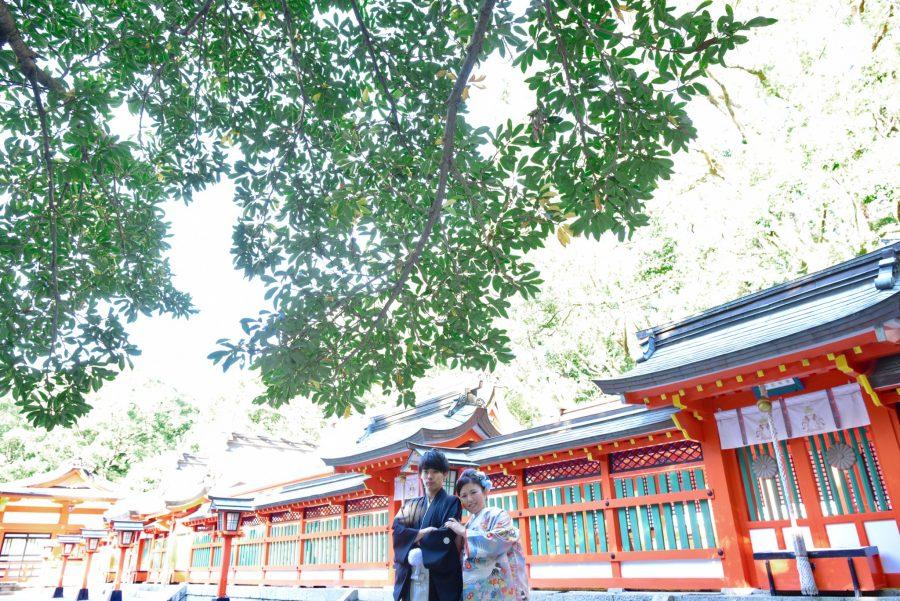 熊野速玉大社の結婚式の写真