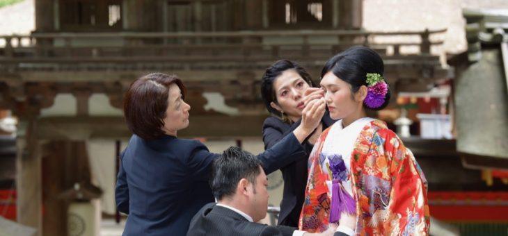 石上神宮の結婚式は多くの鶏の中を参進します!写真24枚で紹介
