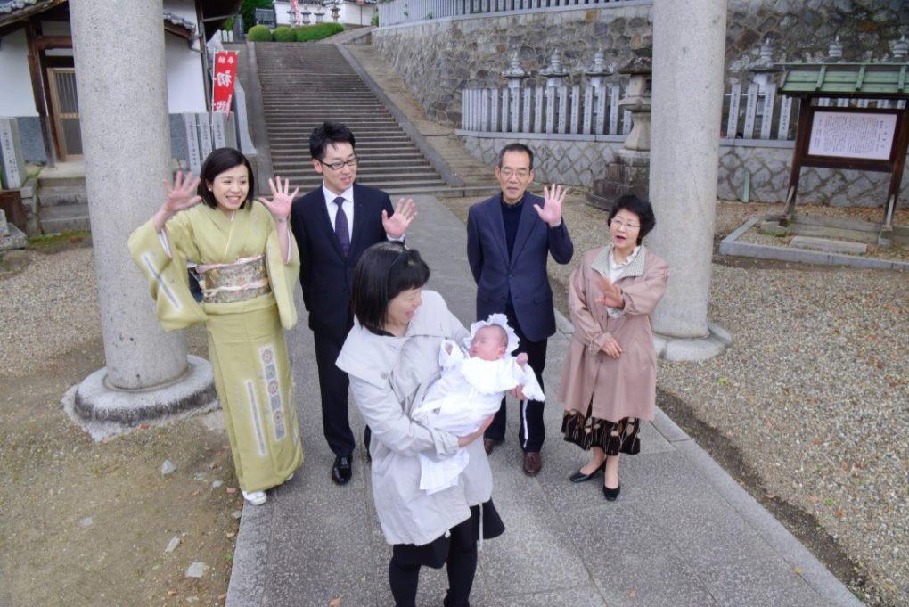 小泉神社のご祈祷とお宮参りの写真