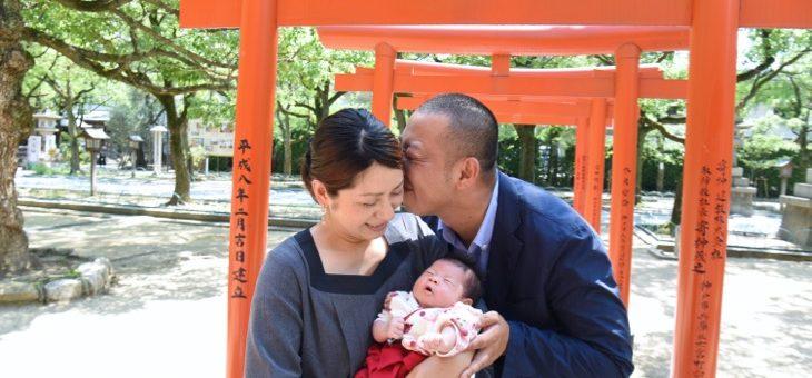湊川神社のお宮参り