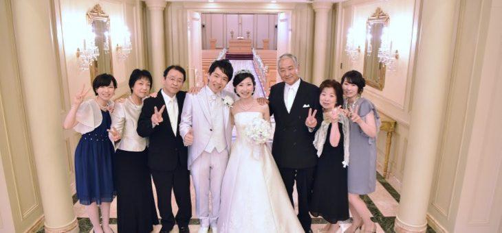 リーガロイヤルホテルの結婚式(16.9.3)