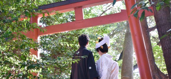 廣瀬大社での結婚式