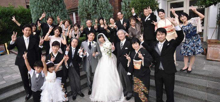 北野ホテルでの結婚式(2016.10.1)