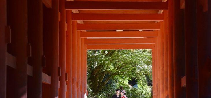 談山神社、橘寺、石舞台、明日香村で和装前撮り