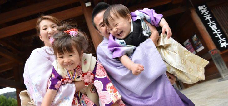 橿原神宮で七五三(2016.11.29)
