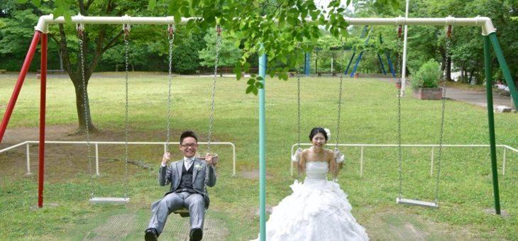 ドレスの前撮りロケーションフォト