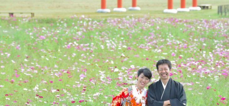 結婚式の前撮りロケーション和装撮影109